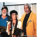 Richard Gant Tarika Lewis and John Carlos